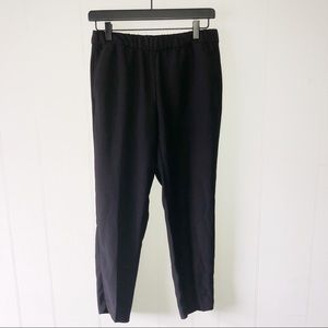 Banana Republic Black Straight Leg Pants